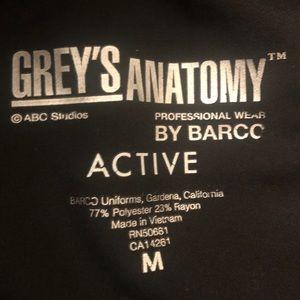 Greys Anatomy Active Scrubs